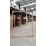 Timber Entry Frame 2107mm H x 1685mm W - OPEN IN