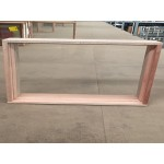 Timber Fixed Window 450mm H x 2400mm W