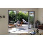 Aluminium Sliding Doors (In Stock: Black, White, Silver)