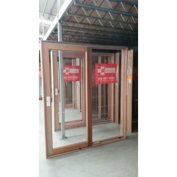 Timber Sliding Door 2107mm H x 2100mm W