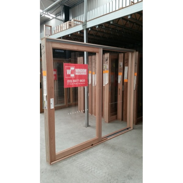 Timber Sliding Door 2107mm H X 2700mm W