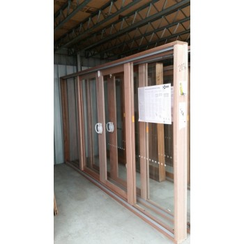 Timber Sliding Door 2107mm H x 3572mm W