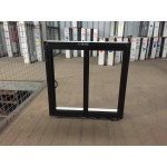 Aluminium Sliding Window 600mm H x 610mm W  (Black)