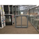 Aluminium Sliding Window 600mm H x 610mm W  (Silver)