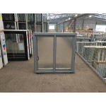 Aluminium Sliding Window 600mm H x 610mm W  (SOB) (Silver)