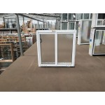Aluminium Sliding Window 600mm H x 610mm W  (SOB) (White)