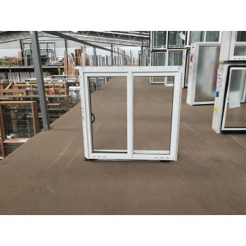 Aluminium Sliding Window 600mm H x 610mm W  (White)