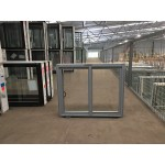 Aluminium Sliding Window 600mm H x 850mm W  (Silver)