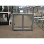 Aluminium Sliding Window 600mm H x 850mm W  (SOB) (Silver)