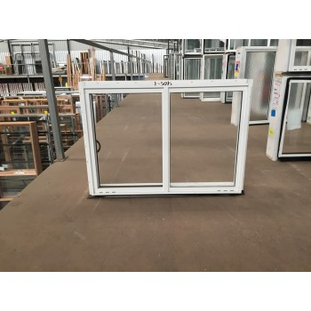 Aluminium Sliding Window 600mm H x 850mm W  (White)