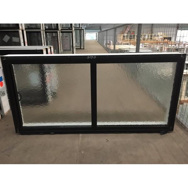 Aluminium Sliding Window 600mm H X 1450mm W Sob Black