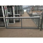 Aluminium Sliding Window 600mm H x 1810mm W  (Silver)