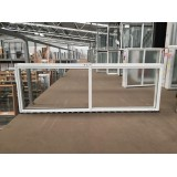 Aluminium Sliding Window 600mm H x 1810mm W  (White)