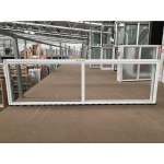 Aluminium Sliding Window 600mm H x 2050mm W  (White)