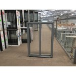 Aluminium Sliding Window 860mm H x 610mm W  (Silver)