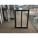 Aluminium Sliding Window 860mm H x 610mm W  (SOB) (Black)