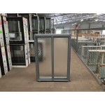 Aluminium Sliding Window 860mm H x 610mm W  (SOB) (Silver)