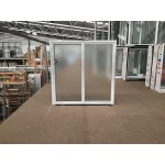 Aluminium Sliding Window 860mm H x 610mm W  (SOB) (White)