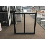 Aluminium Sliding Window 860mm H x 850mm W  (Black)