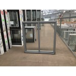 Aluminium Sliding Window 860mm H x 850mm W  (Silver)