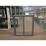 Aluminium Sliding Window 860mm H x 850mm W  (SOB) (Silver)