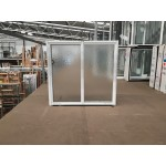 Aluminium Sliding Window 860mm H x 850mm W  (SOB) (White)