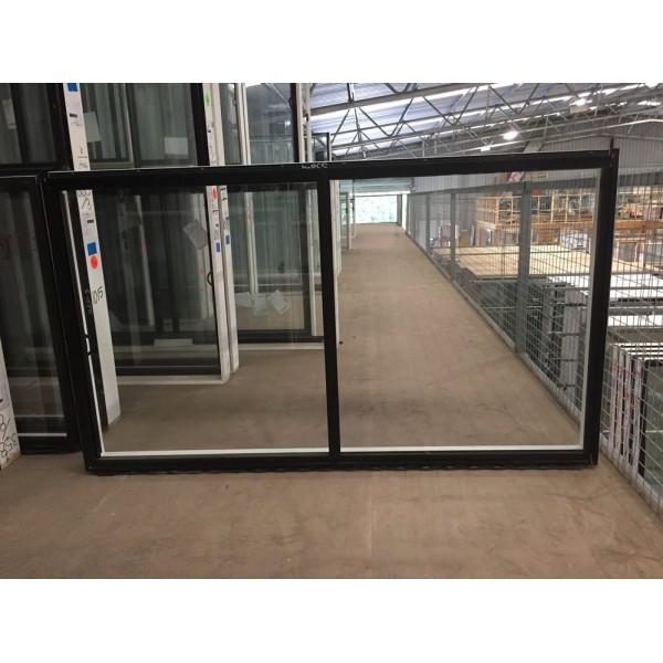 Aluminium Sliding Window 1030mm H X 1810mm W Black