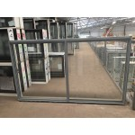Aluminium Sliding Window 1030mm H x 1810mm W  (Silver)