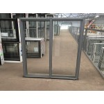 Aluminium Sliding Window 1200mm H x 1210mm W (Silver)