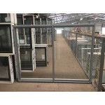 Aluminium Sliding Window 1200mm H x 1450mm W  (Silver)