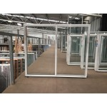 Aluminium Sliding Window 1200mm H x 1450mm W  (White)