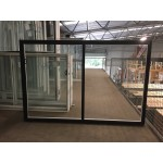 Aluminium Sliding Window 1200mm H x 1810mm W  (Black)