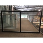 Aluminium Sliding Window 1200mm H x 2050mm W  (Black)